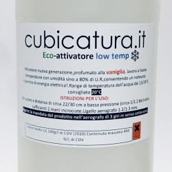 500 ML. NEW - eco - ATTIVATORE - LOW TEMP